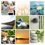 Κολάζ των διαφορετικών όμορφων εικόνων στοκ φωτογραφία με δικαίωμα ελεύθερης χρήσης