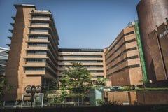 Κορνάρισμα Kong, το Νοέμβριο του 2018 - κτήριο Choi Kai Yau στοκ εικόνα