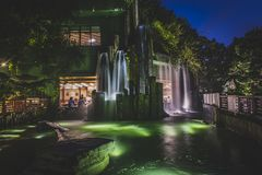 Κορνάρισμα Kong, το Νοέμβριο του 2018 - πάρκο κήπων της Lian γιαγιάδων στοκ εικόνα με δικαίωμα ελεύθερης χρήσης