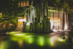 Κορνάρισμα Kong, το Νοέμβριο του 2018 - πάρκο κήπων της Lian γιαγιάδων στοκ φωτογραφίες με δικαίωμα ελεύθερης χρήσης