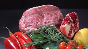 Κρέας με τα λαχανικά και τα φρούτα φιλμ μικρού μήκους