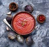 Κρεμώδης σούπα παντζαριών στοκ φωτογραφία με δικαίωμα ελεύθερης χρήσης