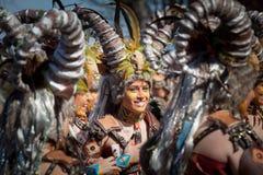 Κριοί σε καρναβάλι στοκ φωτογραφία με δικαίωμα ελεύθερης χρήσης