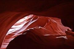 Κόκκινες πέτρες βράχου φαραγγιών αντιλοπών στοκ εικόνες με δικαίωμα ελεύθερης χρήσης