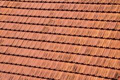 Κόκκινη στέγη tike στοκ εικόνες με δικαίωμα ελεύθερης χρήσης