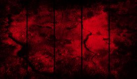 Κόκκινο υπόβαθρο φραγμών μετάλλων Grunge για το έμβλημα, το ιπτάμενο, την κάλυψη και την αφίσα απεικόνιση αποθεμάτων