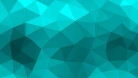 Κυανή Polygonal σύσταση για το αφηρημένο υπόβαθρο απεικόνιση αποθεμάτων
