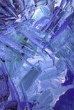 Κυανός και μπλε που χρωματίζεται στον τοίχο απεικόνιση αποθεμάτων