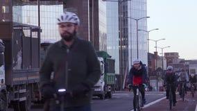 κυκλοφορία του Λονδίν&omic απόθεμα βίντεο