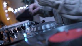 Λέσχη νύχτας μουσικής του DJ φιλμ μικρού μήκους