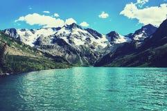 Λίμνη βουνών, Ρωσία, Σιβηρία στοκ εικόνες