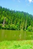 Λίμνη Sfânta Ana στοκ εικόνες με δικαίωμα ελεύθερης χρήσης