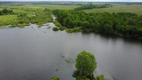 Λίμνη Tulovo τοπίων φιλμ μικρού μήκους