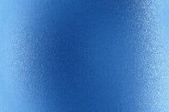 Λαμπρός βουρτσισμένος μπλε τοίχος μετάλλων, αφηρημένο υπόβαθρο σύστασης διανυσματική απεικόνιση