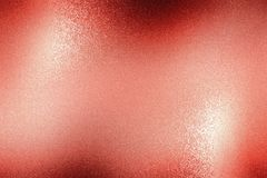 Λαμπρός τραχύς κόκκινος τοίχος μετάλλων, αφηρημένο υπόβαθρο σύστασης απεικόνιση αποθεμάτων