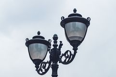 Λαμπτήρες φωτισμού οδών στοκ φωτογραφίες με δικαίωμα ελεύθερης χρήσης