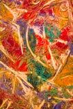 Λεπτομέρεια της ζωγραφικής ελαιοχρώματος στοκ εικόνα με δικαίωμα ελεύθερης χρήσης