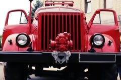 Λεπτομέρειες και δομή του πυροσβεστικού οχήματος στοκ εικόνες με δικαίωμα ελεύθερης χρήσης
