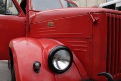 Λεπτομέρειες και δομή του πυροσβεστικού οχήματος στοκ φωτογραφία