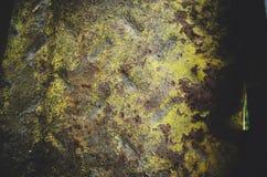 λεπτομερής τεμαχίων μετάλλων σύσταση επιφάνειας σκουριάς σκουριασμένη στοκ εικόνα με δικαίωμα ελεύθερης χρήσης