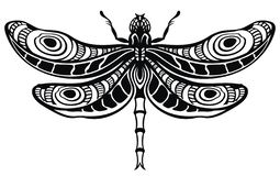 Λιβελλούλη στο stylefor δερματοστιξιών το σχέδιό σας διανυσματική απεικόνιση