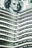 Λογαριασμοί αρκετών δολαρίων σε ένα άσπρο υπόβαθρο στοκ εικόνα με δικαίωμα ελεύθερης χρήσης