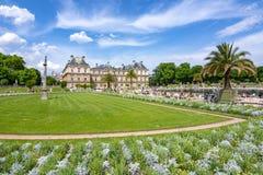 Λουξεμβούργιοι παλάτι και κήποι στο Παρίσι, Γαλλία στοκ φωτογραφία με δικαίωμα ελεύθερης χρήσης