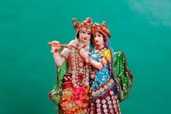 Λόρδος Krishna και Radha, ινδικός Θεός στοκ φωτογραφία με δικαίωμα ελεύθερης χρήσης