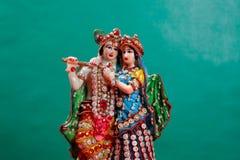 Λόρδος Krishna και Radha, ινδικός Θεός στοκ φωτογραφίες με δικαίωμα ελεύθερης χρήσης