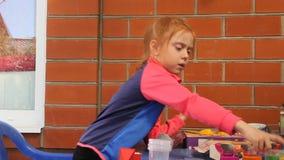 Μάζα παιχνιδιού κοριτσιών για τη διαμόρφωση φιλμ μικρού μήκους