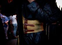 Μακροχλίδα στενή άποψη ζωνών ενός nazareno στοκ φωτογραφία με δικαίωμα ελεύθερης χρήσης