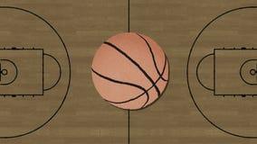 Μακρύ χέρι που συγκεντρώνει ένα αναδρομικό ύφος διακοπής καλαθοσφαίρισης διανυσματική απεικόνιση
