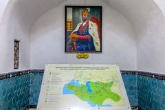 Μαυσωλείο 06 εμιρών του Σάμαρκαντ gur-ε στοκ φωτογραφίες