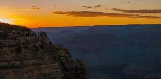 Μεγάλο εθνικό πάρκο φαραγγιών από σημείο Mather στις Ηνωμένες Πολιτείες στοκ εικόνα με δικαίωμα ελεύθερης χρήσης