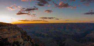 Μεγάλο εθνικό πάρκο φαραγγιών από σημείο Mather στις Ηνωμένες Πολιτείες στοκ εικόνες