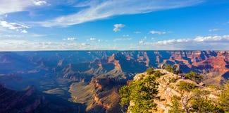 Μεγάλο φαράγγι, νότιο πλαίσιο, Αριζόνα, Ηνωμένες Πολιτείες της Αμερικής στοκ εικόνες