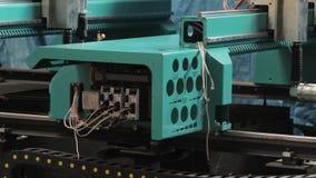 Μηχανές στο εργοστάσιο φιλμ μικρού μήκους