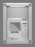 Μηχανή του ATM στον τοίχο απεικόνιση αποθεμάτων