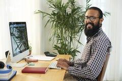 Μηχανικός από τον εργασιακό χώρο στοκ φωτογραφίες με δικαίωμα ελεύθερης χρήσης