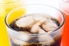 Μη αλκοολούχα ποτά για το καλοκαίρι που απομονώνεται στοκ εικόνες με δικαίωμα ελεύθερης χρήσης