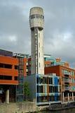 Μη χρησιμοποιούμενος πυροβοληθείς πύργος στοκ φωτογραφίες