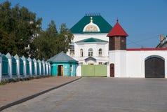 Μια από την οικοδόμηση Tobolsk Κρεμλίνο Tobolsk Ρωσία στοκ φωτογραφίες