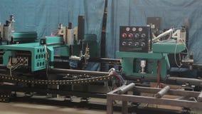 Μια από πολλές μηχανές στο εργοστάσιο φιλμ μικρού μήκους