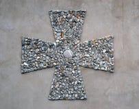 Μικρός διαγώνιος ορθόδοξος σταυρός στοκ εικόνες