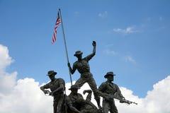 μνημείο της Κουάλα Λουμπούρ Μαλαισία εθνικό στοκ εικόνες