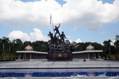 μνημείο της Κουάλα Λουμπούρ Μαλαισία εθνικό στοκ εικόνα