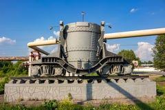 Μνημείο υπό μορφή αυτοκινήτου σκουριάς στοκ εικόνες