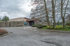 Μουσείο εγκαυμάτων του Robert σε Alloway κοντά σε Ayr Σκωτία στοκ φωτογραφία με δικαίωμα ελεύθερης χρήσης