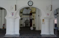 Μουσουλμανικό τέμενος Kling Kapitan, Τζωρτζτάουν, Penang, Μαλαισία στοκ εικόνα με δικαίωμα ελεύθερης χρήσης