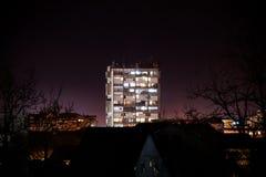Μόνο ουρανοξύστης στοκ εικόνες με δικαίωμα ελεύθερης χρήσης